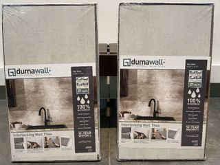 Dumawall  Waterproof Wall Tiles 25 625 X 14 75   Retail  155 96