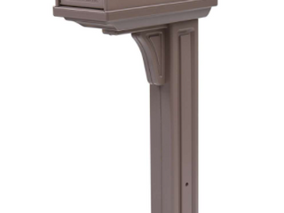Gibraltar double door Mailbox and Post  Retail  49 99