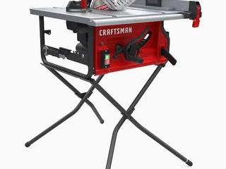 craftsman 15 amp table saw 10 inch Retail   169 00