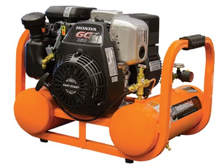 Industrial Air Industrial Air Contractor 4 Gallon Single Stage Portable Gas Horizontal Air Compressor Retail  580 00