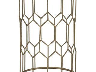 Adore Decor Gold Harper Side Table Retail 89 49