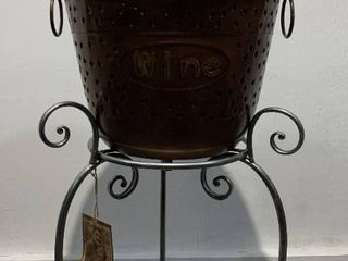 Iron  Beer and Wine  Ice Bucket Stand Retail 156 49