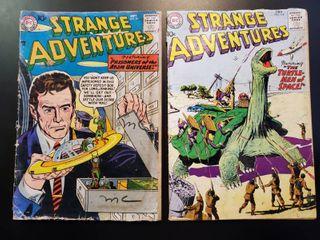 Strange Adventures No  84 and No  118
