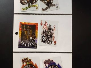 lot of 9 Vending Machine Stickers Decals