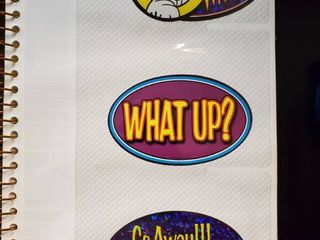 lot of 7 Vending Machine Stickers Decals