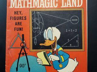 Walt Disney s Donald in Mathmagic land No  1198
