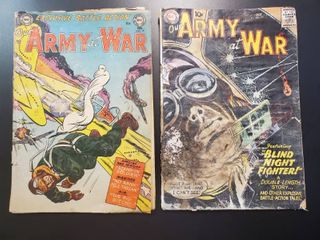 Our Army at War No 19 and No  75