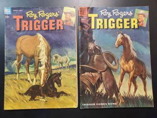 Roy Rogers  Trigger No  8 and No  17