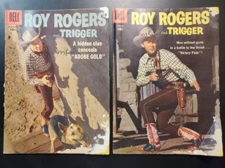 Roy Rogers and Trigger No  120 and No  121