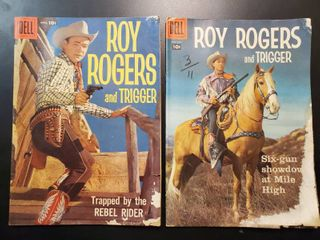 Roy Rogers and Trigger No  124 and No  125