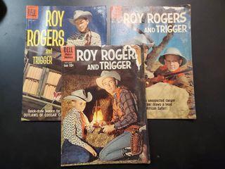 Roy Rogers and Trigger No  127  No  134 and No  137