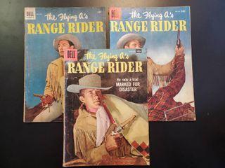 Range Rider No  7  No  12 and No 18