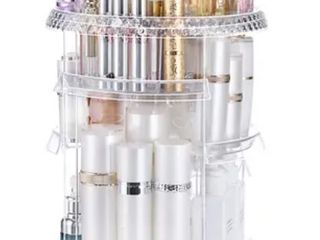 360 Degree Rotation 7 layer Cosmetic Organizer