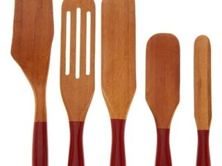 Mad Hungry 5 Piece Multi Use Bamboo Spurtle Set