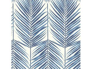 Seabrook Designs Beach House Paradise Palm leaf Unpasted Wallpaper