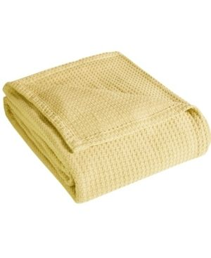 Grand Hotel Woven Cotton Throw Blanket   King