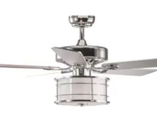 Canopus 5 Blade Chandelier Ceiling Fan w  Remote Control   light Kit
