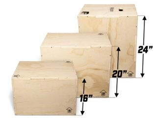 GoSports Fitness launch Box   3 in 1 Plyo Jump