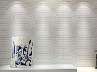 Art3d 3D Wall Panels w  PVC Geometeic Design   12 Pack