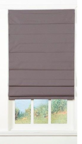Taylor   Olive Halfway Insulating Cordless Roman Shade