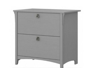 SAlINAS 2 DRAWER lATERAl FIlE CABINET Cape Cod Gray