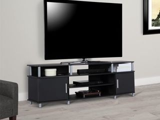Ameriwood Home Carson TV Stand for TVs up to 70  Black