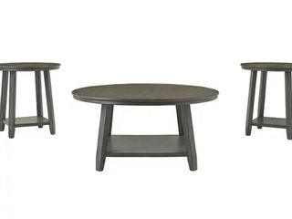 Signature Design By Ashley 3 in 1 Caitbrook Table  Set of 3