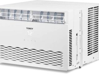 TOSOT 8 000 BTU Window Air Conditioner with Remote Control  Energy Star Cools Rooms Up to 350 Sq Ft   Still has Factory Straps