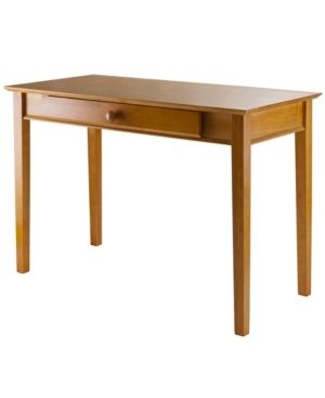 Studio Computer Desk Honey Brown   Winsome