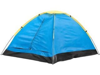 2 Person Tent  Dome Tents for Camping with Carry Bag by Wakeman Outdoors  Camping Gear for Hiking  Backpacking  and Traveling    BlUE