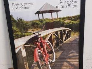 MCS Museum Poster Frame  24 x 36 Inch  Onyx Woodgrain