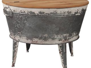 Shellmond Coffee Table With Storage Twotone   Signature Design by Ashley Missing Hardware