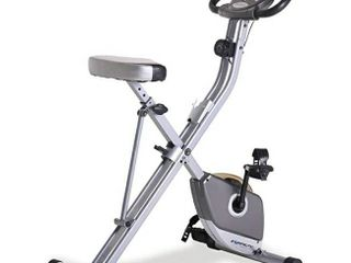 Exerpeutic Folding Magnetic Upright Exercise Bike with Pulse  31 0  l x 19 0  W x 46 0  H  1200