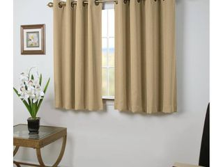 Grand Pointe Short Single Curtain Panel