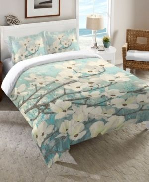 laural Home Dogwood Blossoms Pillow Sham