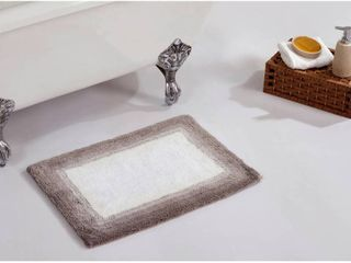 Better Trends Torrent Collection 100  Cotton Tufted Bath Mat Rug