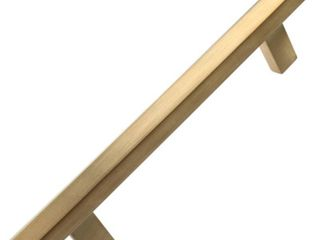 GlideRite 5 inch Center Satin Gold Solid Hexagon Bar Pulls  10 Pack    Satin Gold Retail 93 49