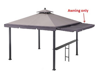 Sunjoy Replacement Awning Canopy for Model l GZ1023PST A Retail 148 49