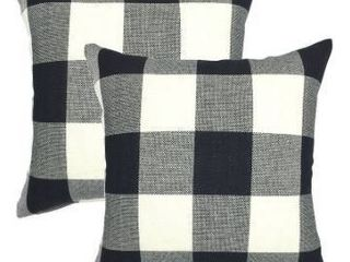 Buffalo Check Plaid Throw Pillow Set of 2