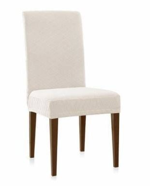 Enova Home Rhombus Jacquard Stretchy Universal Dining Chair Slipcovers For living Room