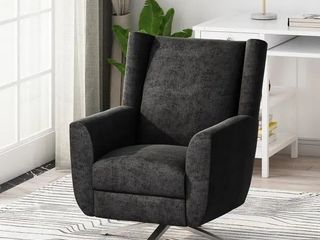 Woodmere Contemporary Fabric Swivel Chair by Christopher Knight Home  missing legs