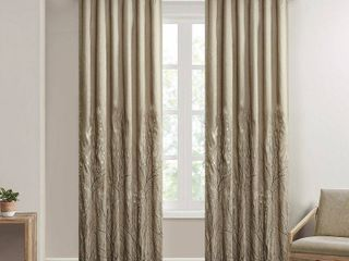 95 x50  Aden Curtain Panel Tan