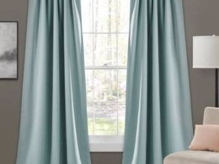 Porch   Den linda Insulated Back Tab Blackout Window Curtain Panel Pair