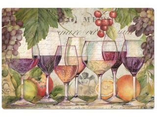 Decorative Anti Fatigue Floor Mat 30  x 20    Wine Country   30  x 20
