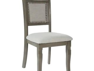 The Gray Barn Grizzly Way Dining Chair  Set of 2  Retail 204 49