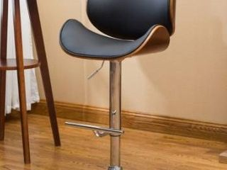 Strick and Bolton lega modern adjustable barstool