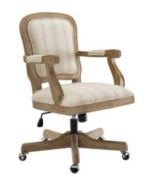 Willa stripes office desk chair