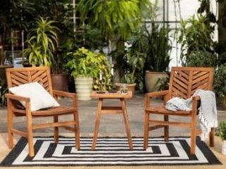 Elephant Point Set of 2 club chairs Chevron Chat Set by Havenside Home