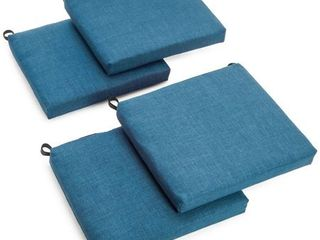 Blazing Needles 20 inch Indoor Outdoor Chair Cushion  Set of 4  Retail 94 04