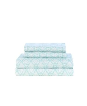 lillian August Blue Willow Sheet Set Retail 124 99